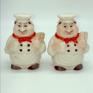 Other - Chef Salt & Pepper Shakers